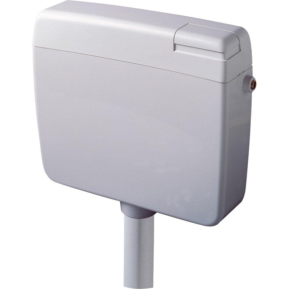 R servoir semi bas wc siamp extraplat leroy merlin - Systeme de chasse d eau pour wc ...