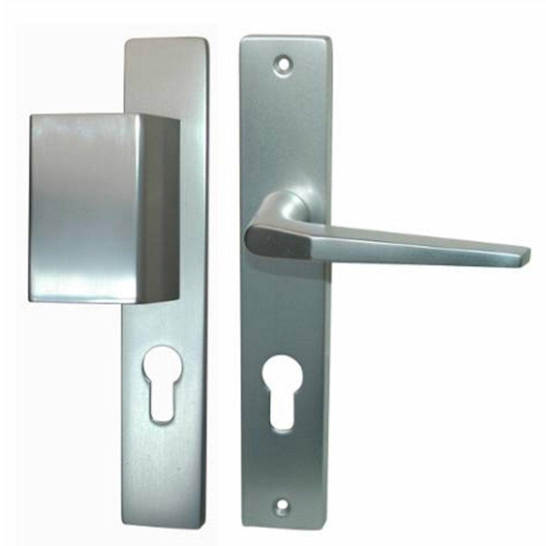 Porte D Entrée Aluminium Castorama Avec Poignee De Porte D Entree Castorama  - Maison Design -