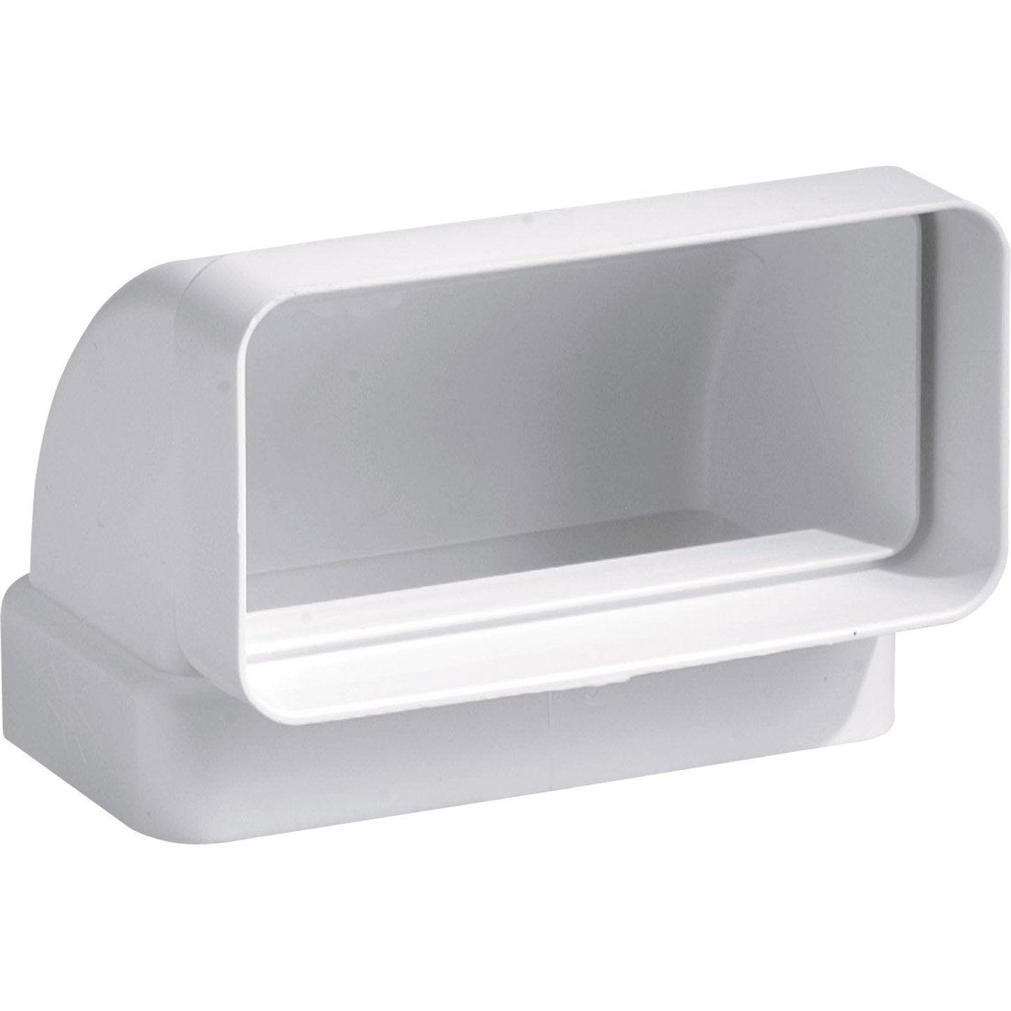 coude 90 rectangulaire vertical pvc s p mm cvr100 leroy merlin. Black Bedroom Furniture Sets. Home Design Ideas
