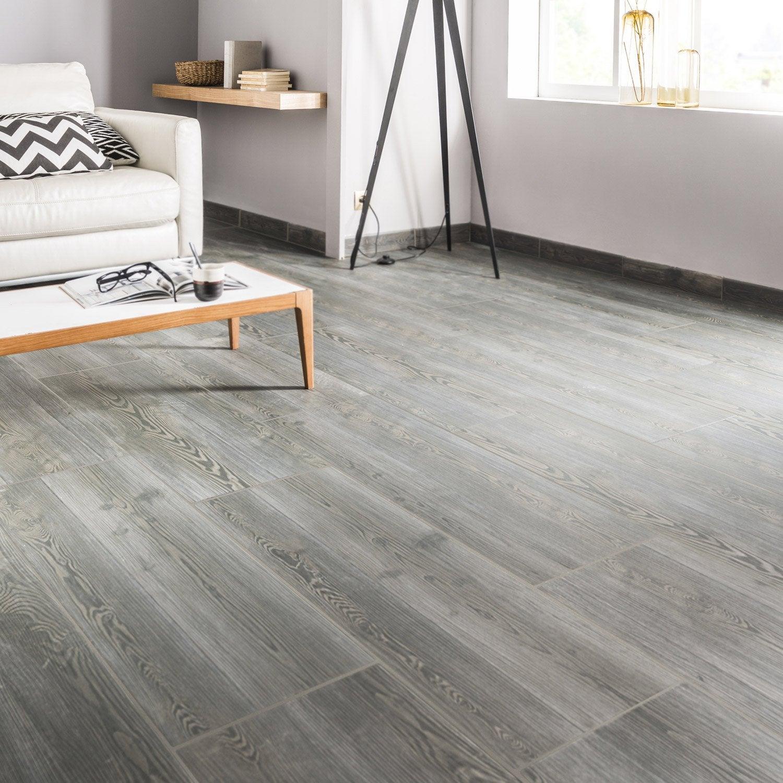 carrelage sol et mur anthracite effet bois aspen x cm leroy merlin. Black Bedroom Furniture Sets. Home Design Ideas