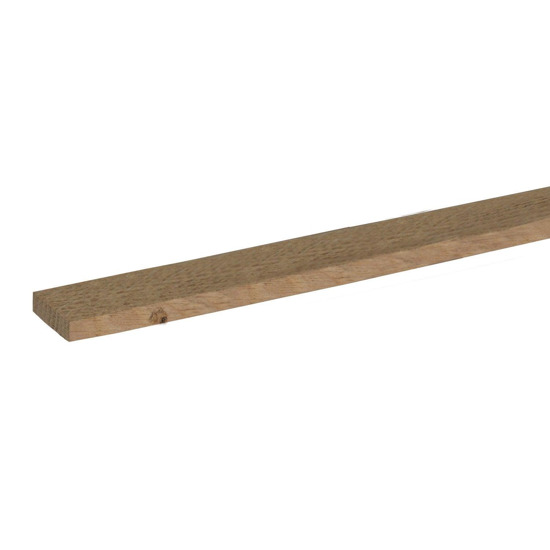 tasseau ch ne petits noeuds rabot 10 x 30 mm l 2 m leroy merlin. Black Bedroom Furniture Sets. Home Design Ideas