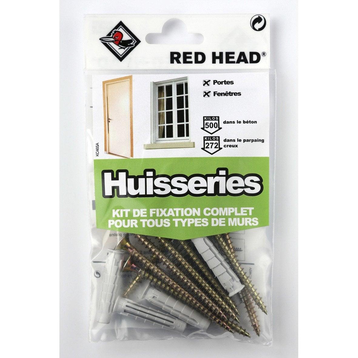 kit chevilles pour huisseries dans tous types de mat riaux leroy merlin. Black Bedroom Furniture Sets. Home Design Ideas