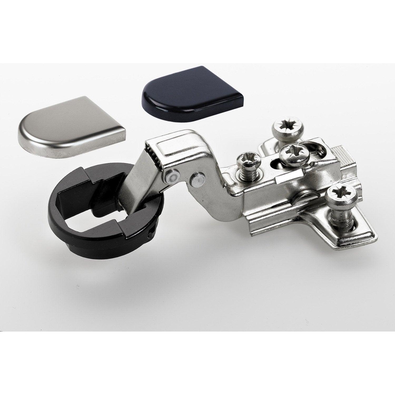 charni re invisible acier pour meuble 130 x 100 mm leroy merlin. Black Bedroom Furniture Sets. Home Design Ideas