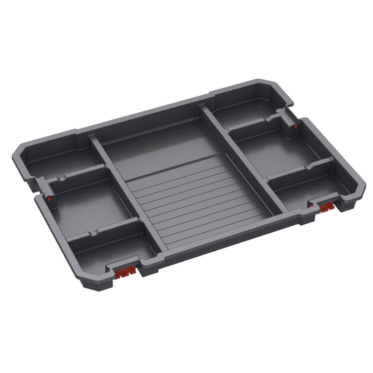 Plateau de rangement pour bo te outils systembox - Rangement modulable leroy merlin ...