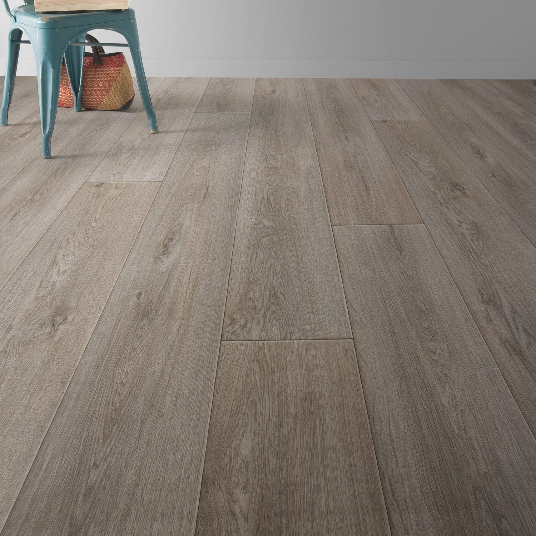 sol vinyle premium prestige oak grey 4 m leroy merlin. Black Bedroom Furniture Sets. Home Design Ideas