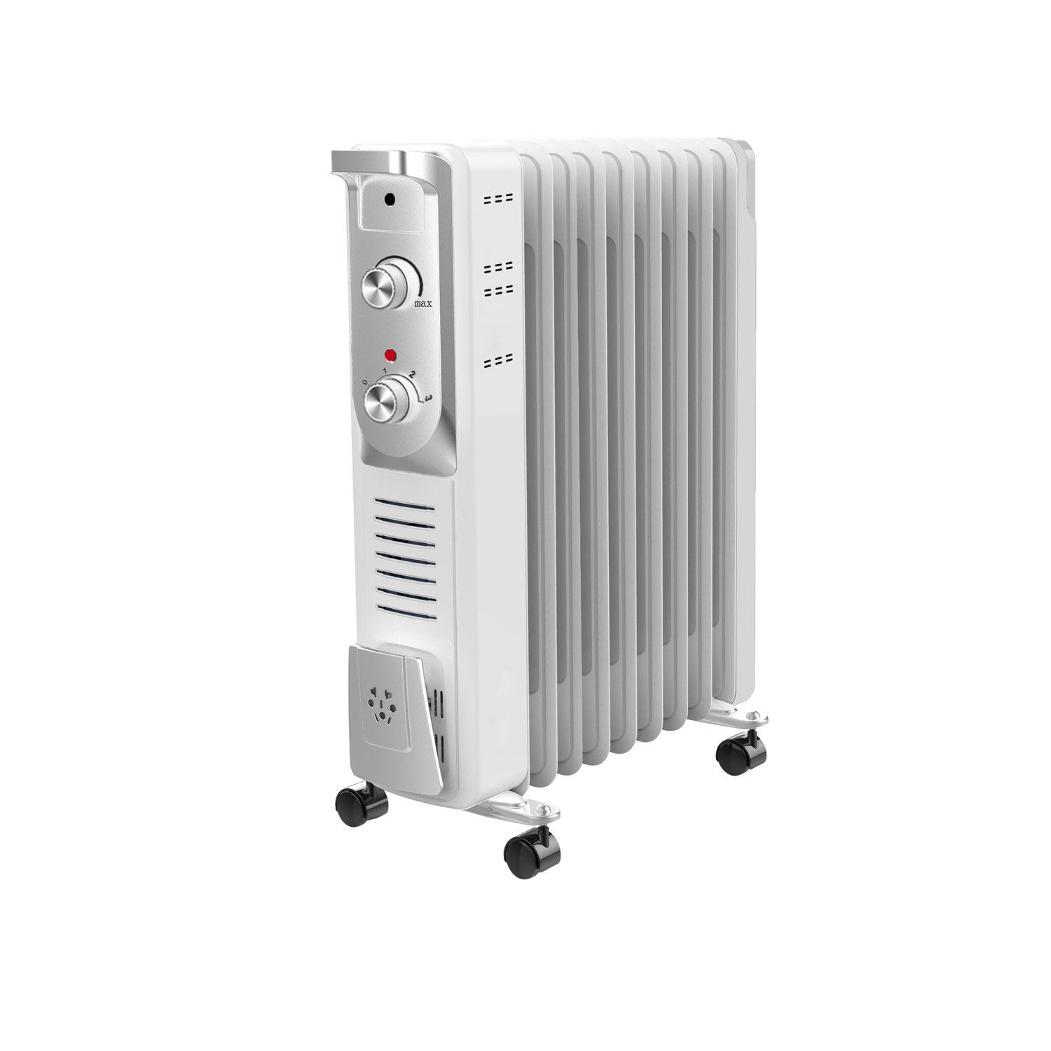 radiateur bain d 39 huile lectrique equation olea 2000 w leroy merlin. Black Bedroom Furniture Sets. Home Design Ideas