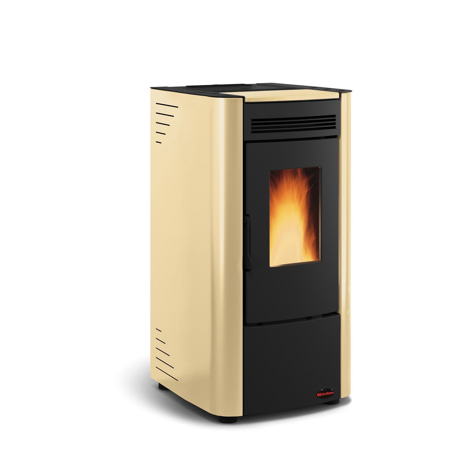 po le granul s extraflame ketty beige 6 kw leroy merlin. Black Bedroom Furniture Sets. Home Design Ideas