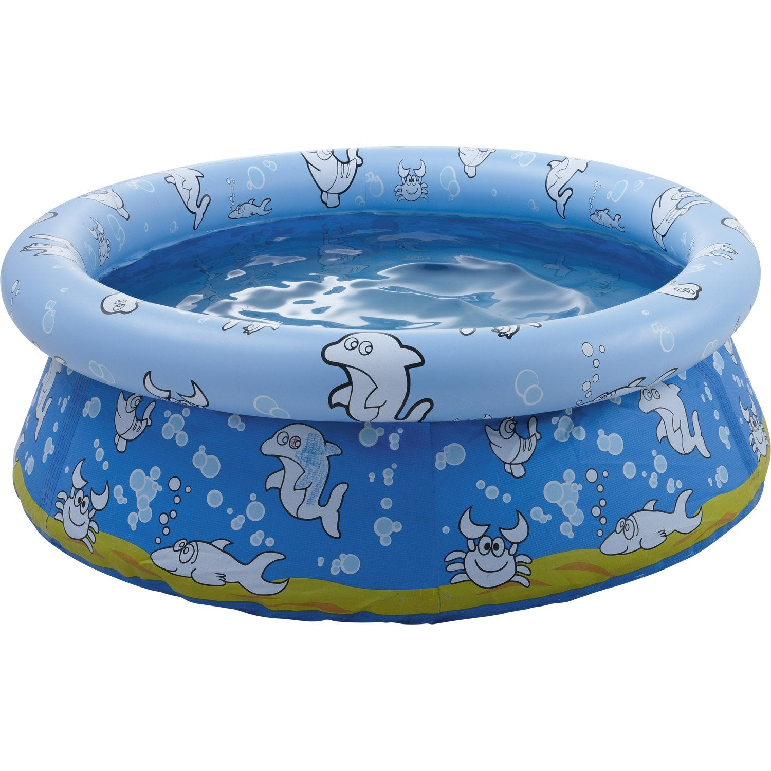 Piscine hors sol autoportante gonflable ronde diam 1 2 m for Piscine hors sol gonflable