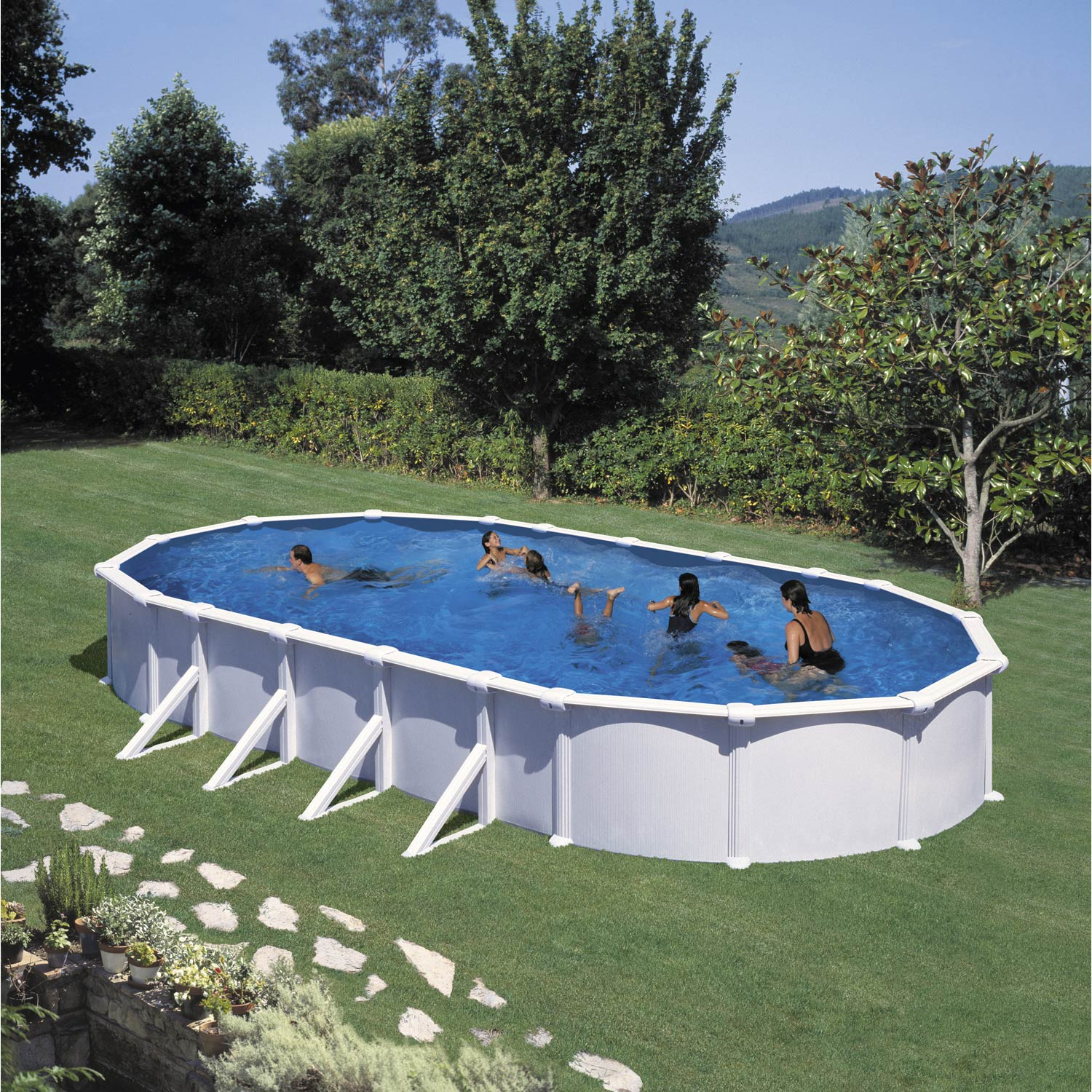 Piscine semi enterre leroy merlin beautiful with piscine for Piscine en bois leroy merlin