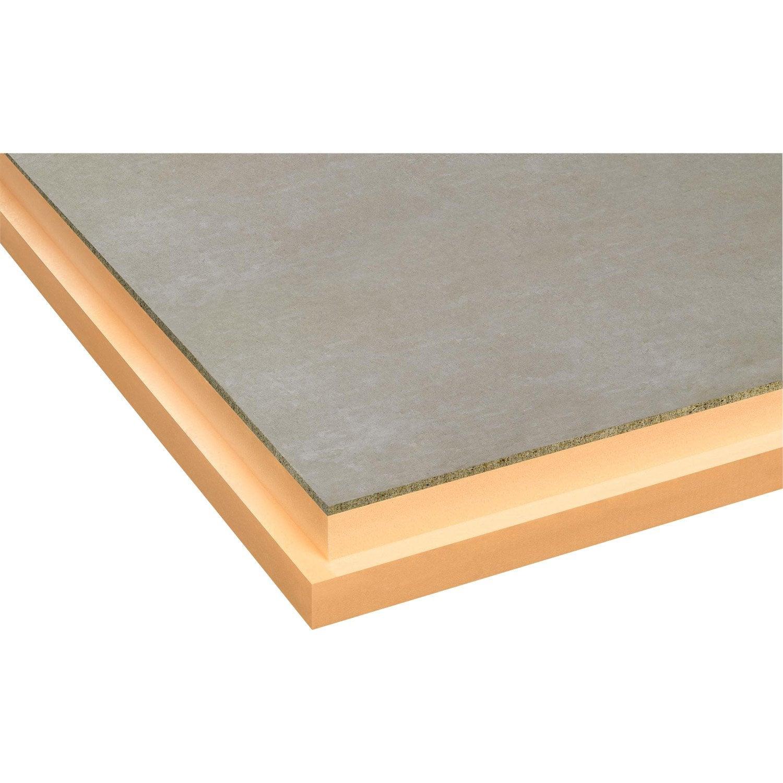 Panneau polystyr ne extrud ciment topox beton r 2 - Panneau rainure leroy merlin ...