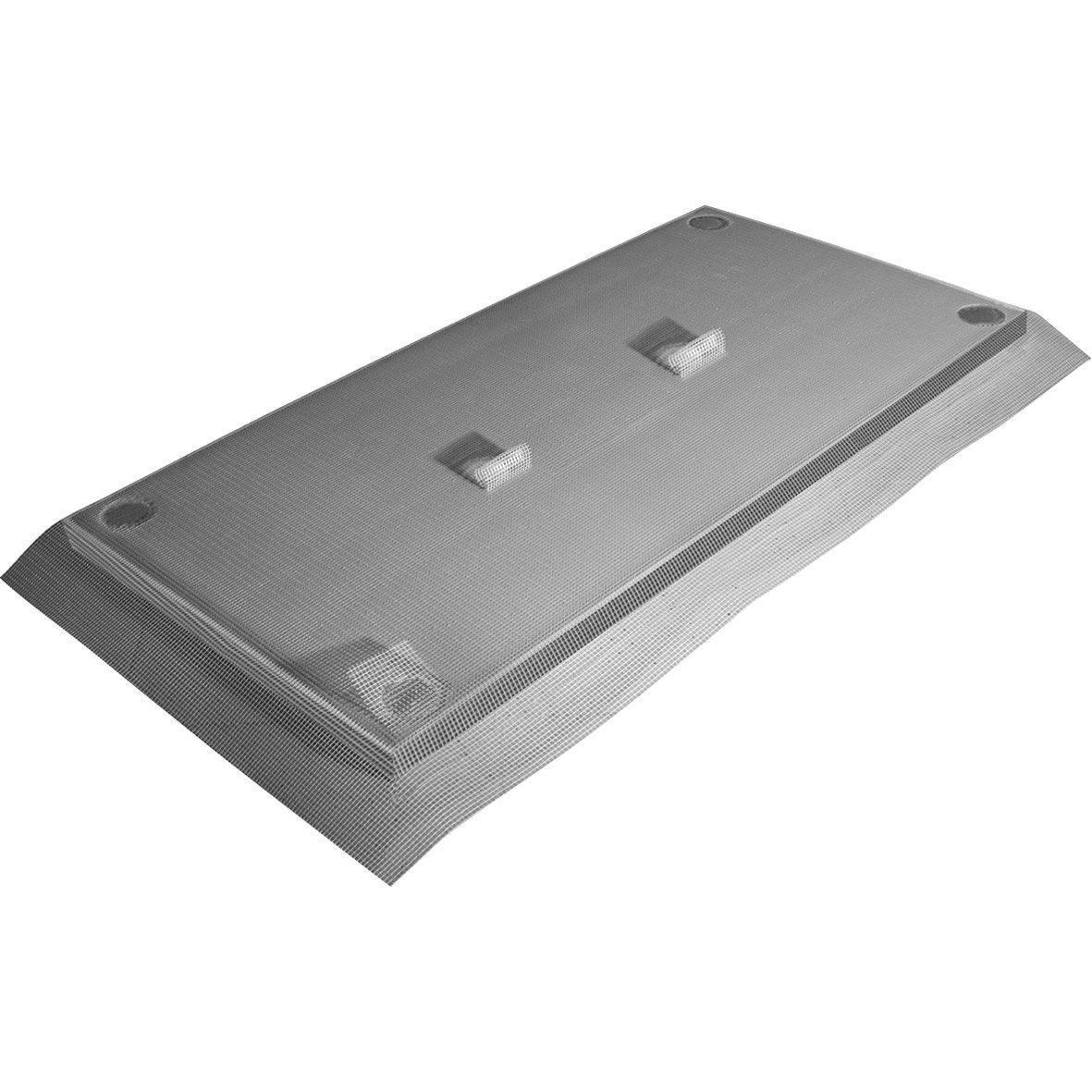 Panneaux isol 39 fa ade graphite paisseur 60 mm leroy merlin - Panneaux muraux cuisine leroy merlin ...