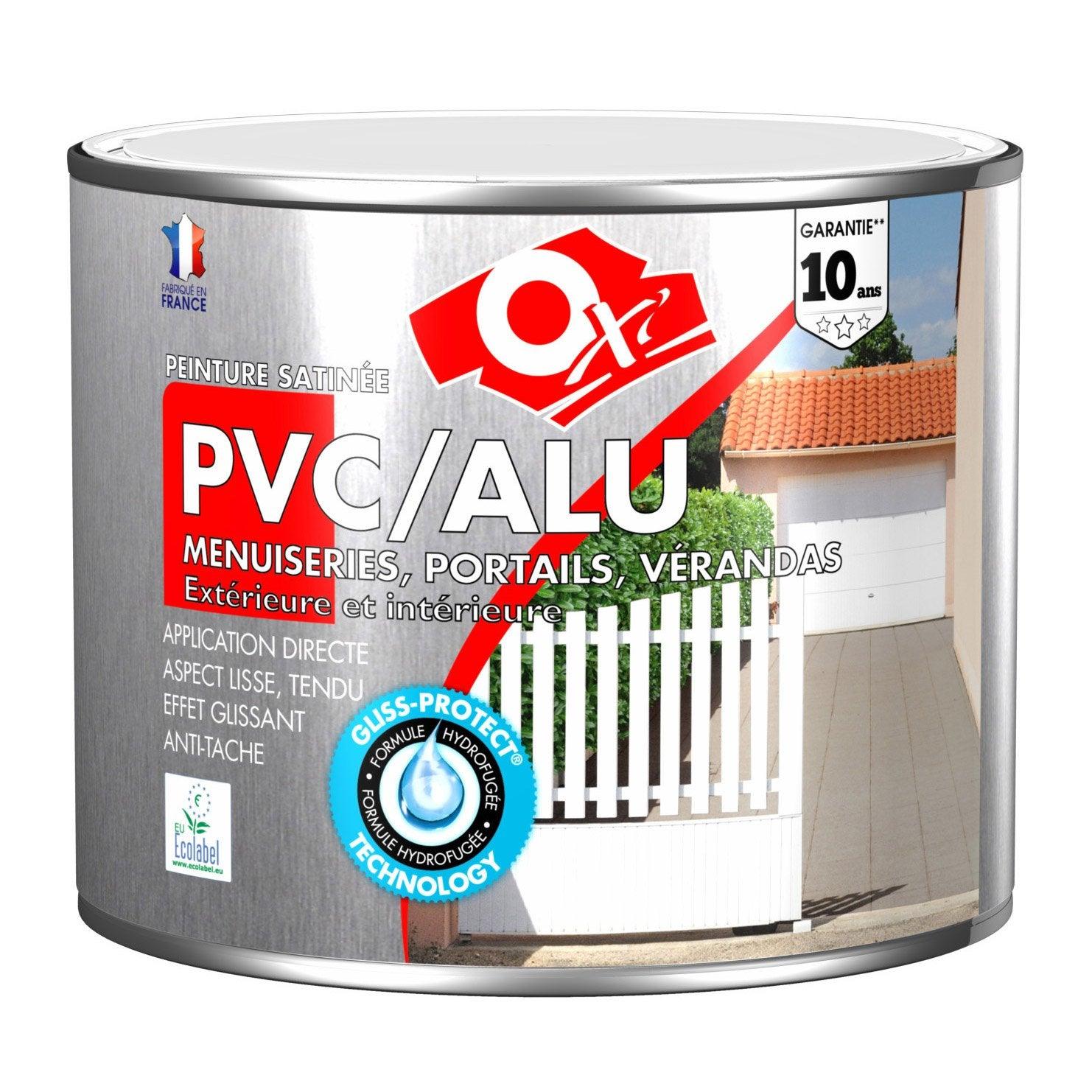 Peinture pvc aluminium galva ext rieur oxy oxytol - Peinture pvc leroy merlin ...