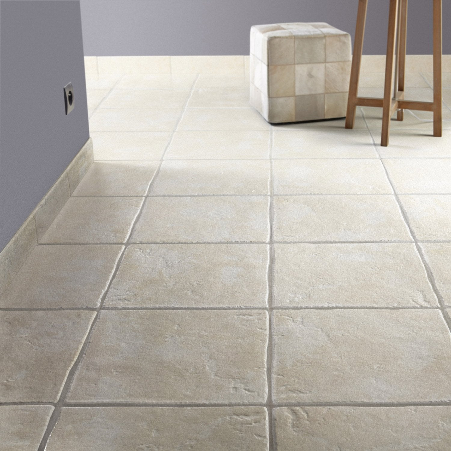 Carrelage cuisine imitation pierre for Carrelage beige 30x30