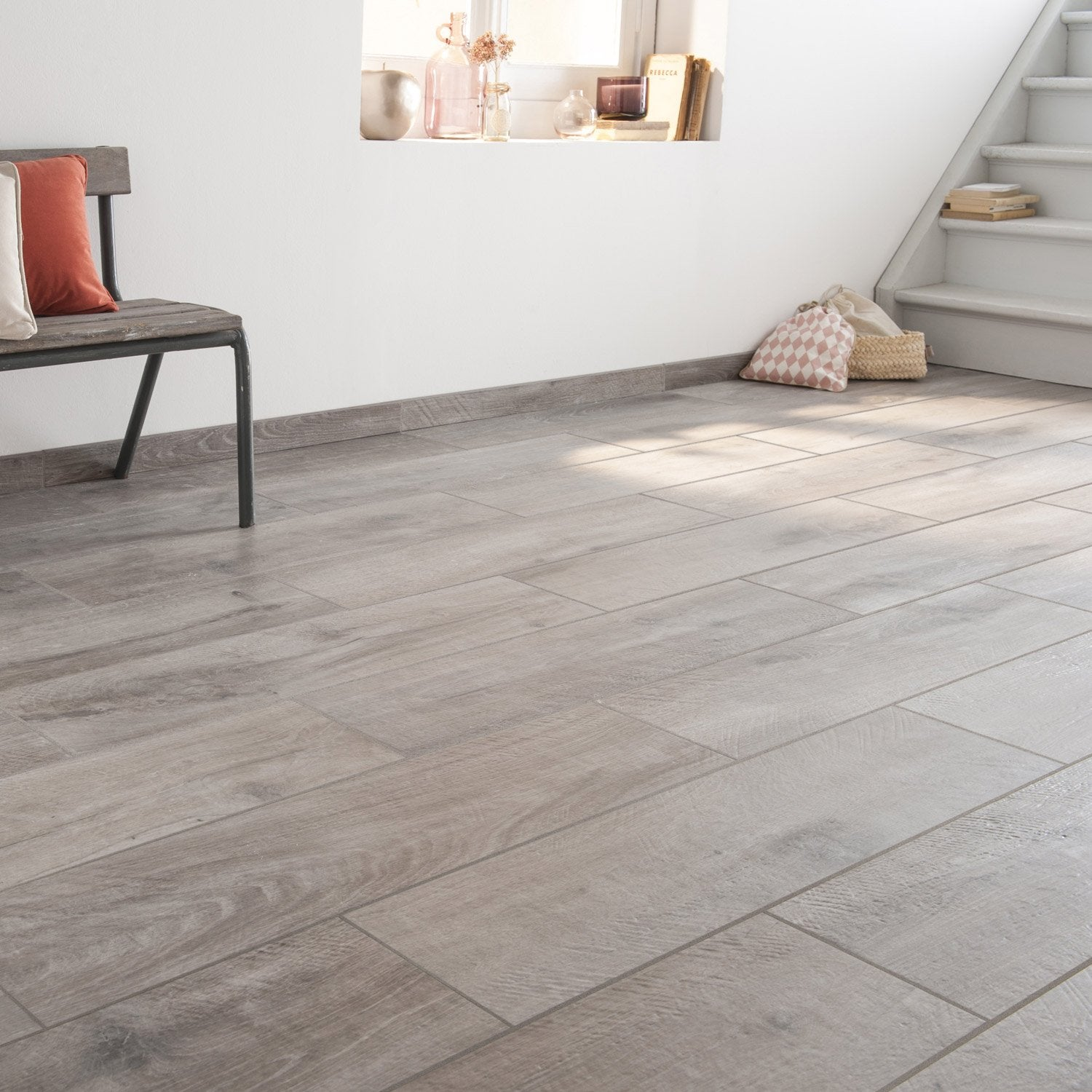 Carrelage effet parquet gris 28 images du carrelage for Carrelage le roy merlin