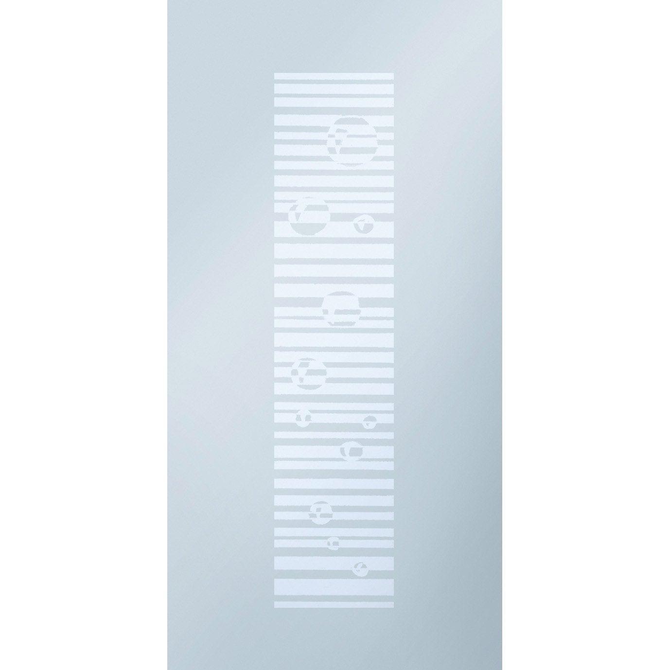 Porte Coulissante Verre Tremp Sable Eclisse 204 X 83 Cm Leroy Merlin