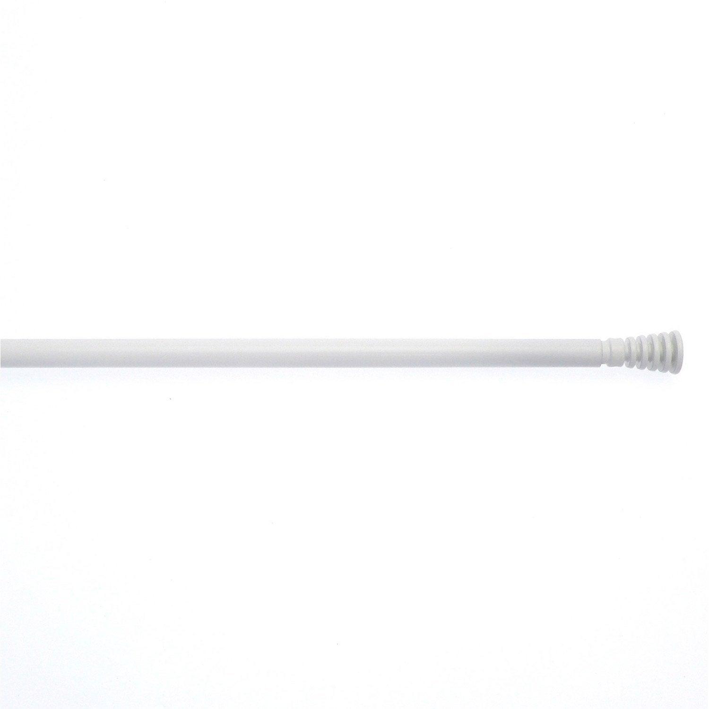 1 barre vitrage extensible avec per age inspire blanc 70 110 cm leroy m - Barre extensible leroy merlin ...