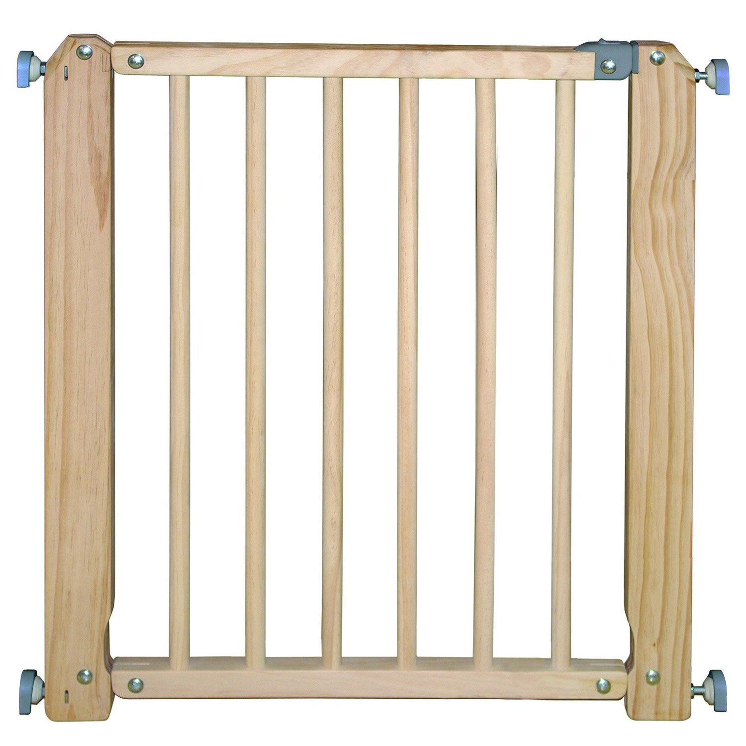 Barri re de s curit enfant en bois naturel long min max for Barriere exterieur en bois