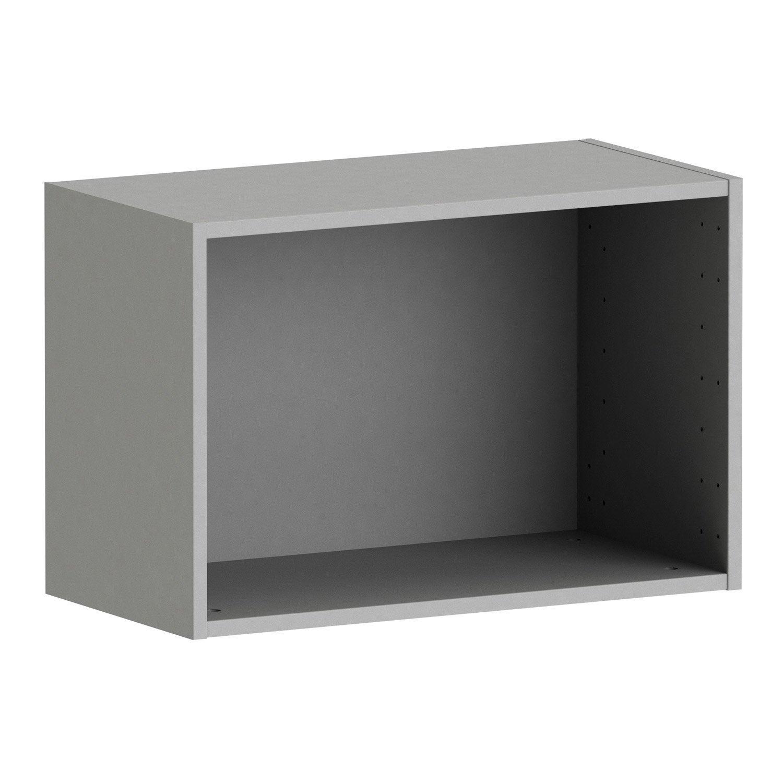 caisson spaceo home h40xl60xp30 gr gr 1 leroy merlin. Black Bedroom Furniture Sets. Home Design Ideas