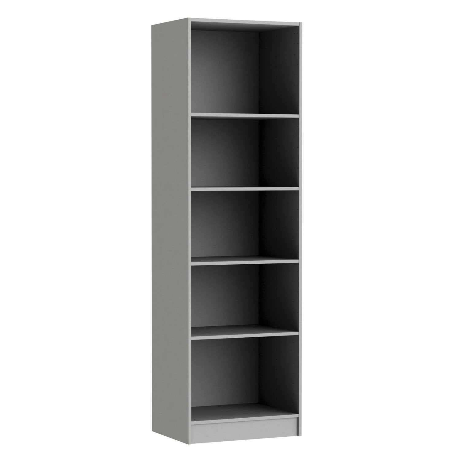 Caisson spaceo home 200 x 60 x 45 cm anthracite leroy for Porte 60 x 30