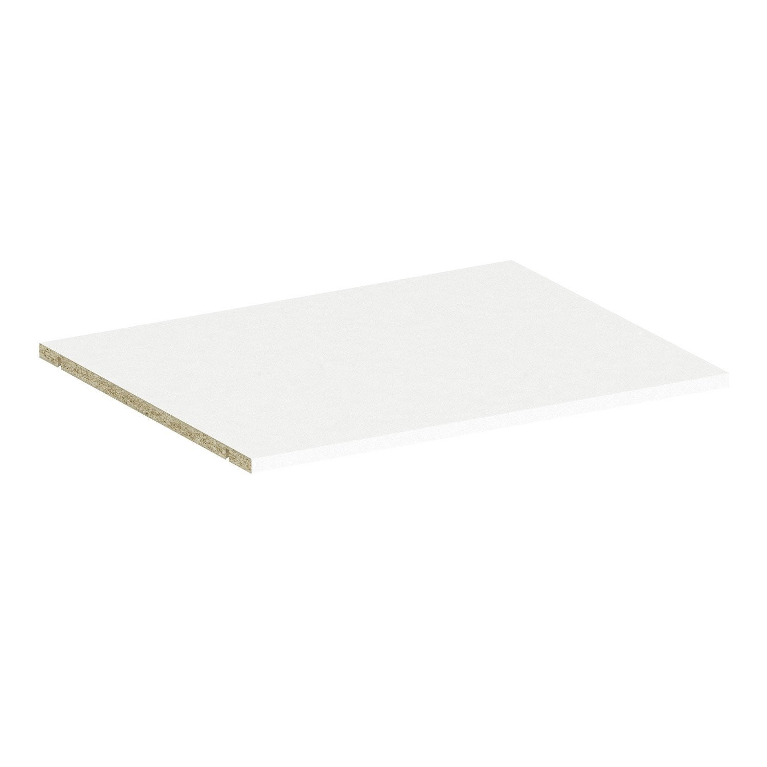 Connu Tablette SPACEO Home 1.6 x 60 x 45 cm, blanc | Leroy Merlin RM45