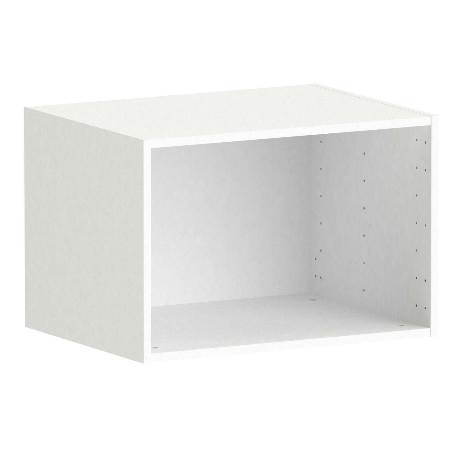 Caisson Spaceo Home 40 X 60 X 45 Cm Blanc Leroy Merlin