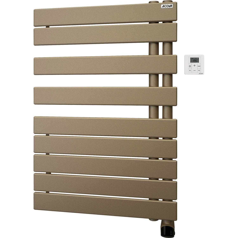 s che serviettes lectrique inertie fluide acova alpaga asym trique 750 w. Black Bedroom Furniture Sets. Home Design Ideas
