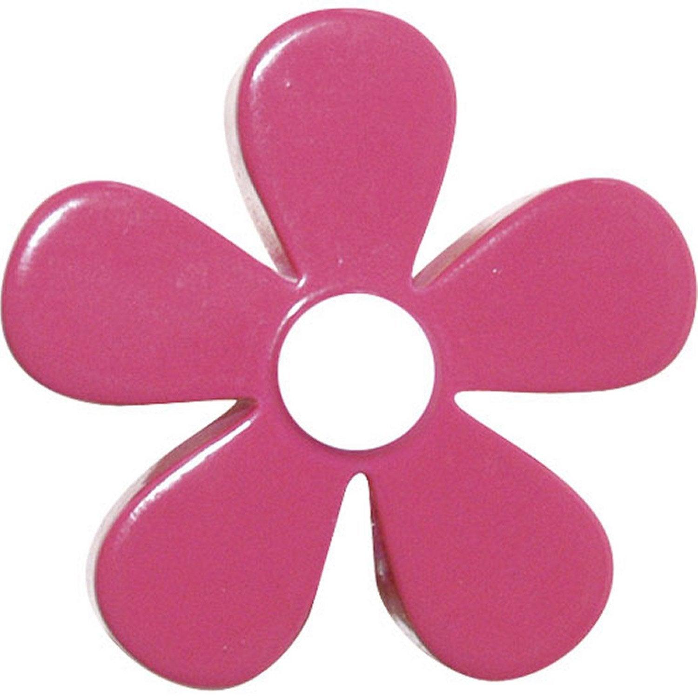 bouton de meuble fleur r sine polyester mat leroy merlin. Black Bedroom Furniture Sets. Home Design Ideas