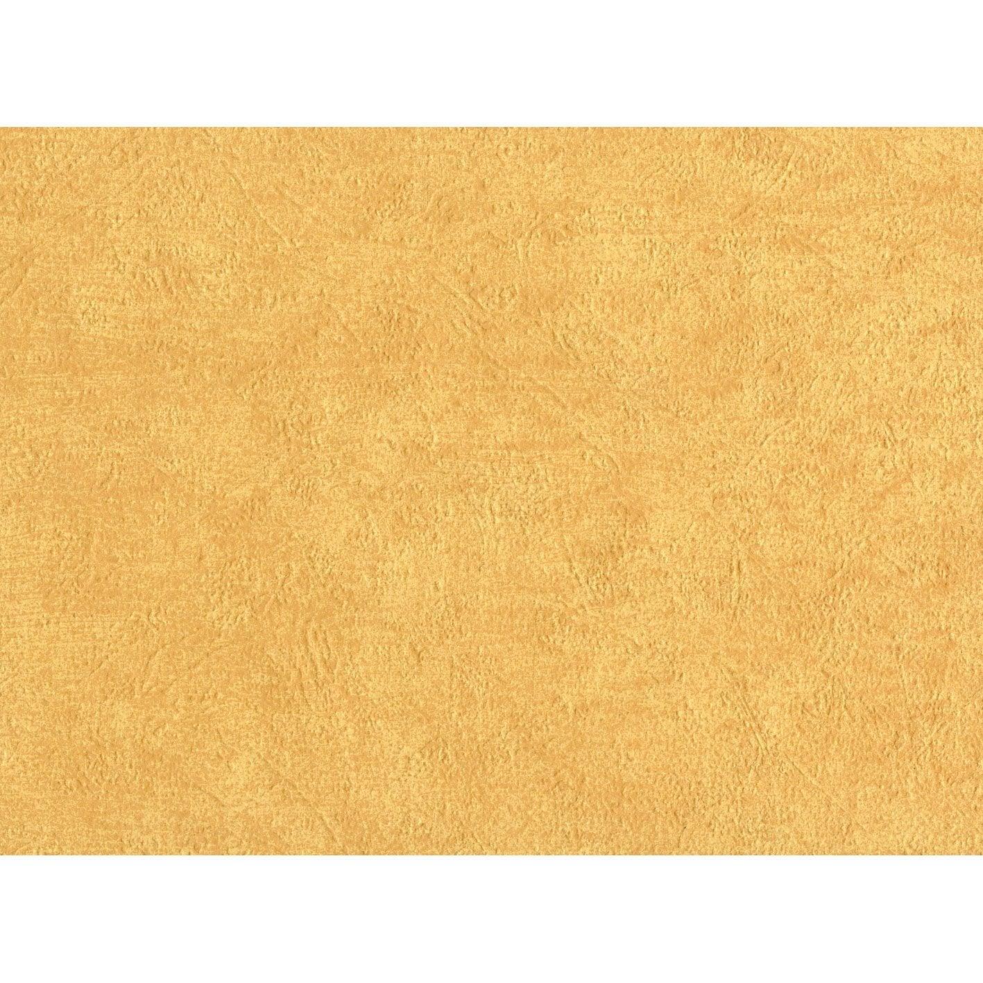 Papier peint sur papier coloria orange larg m - Peinture sur papier peint leroy merlin ...