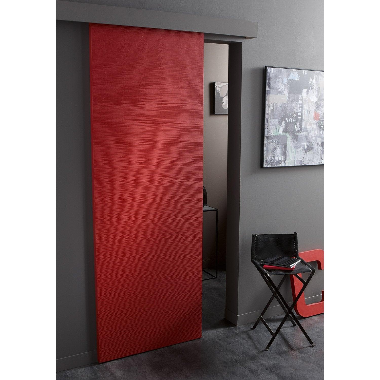 Porte coulissante isoplane ambiance x cm for Porte 83 cm castorama