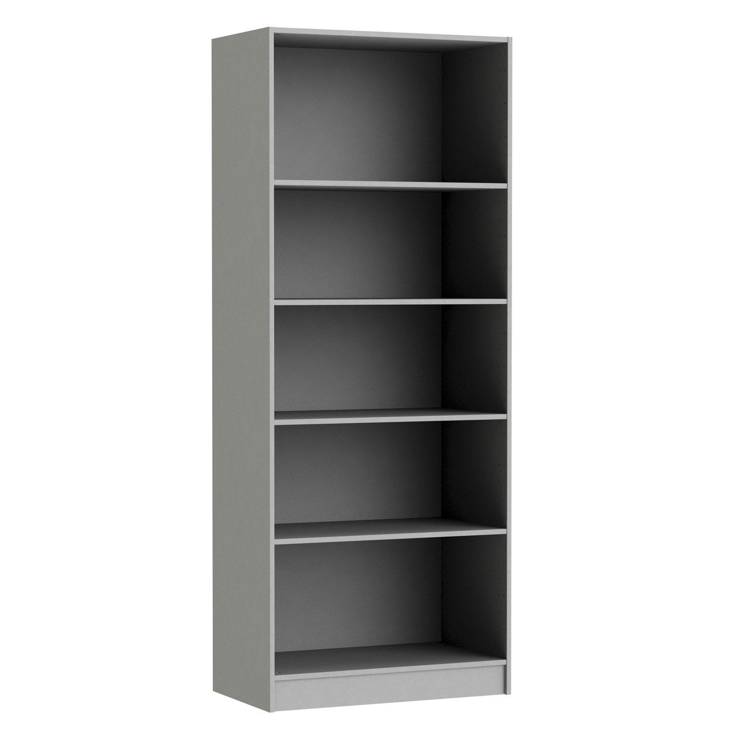 Caisson spaceo home 200 x 80 x 45 cm anthracite leroy for Meuble dressing leroy merlin