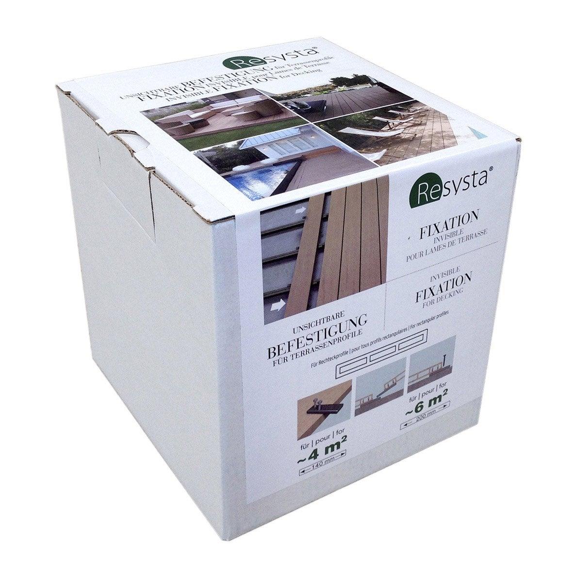 syst me de fixation lot de 120 syst me de fixation invisible leroy merlin. Black Bedroom Furniture Sets. Home Design Ideas