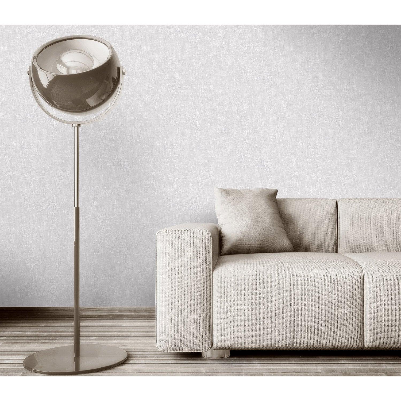 papier peint riviera gris clair leroy merlin. Black Bedroom Furniture Sets. Home Design Ideas