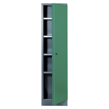 Armoire de rangement en métal vert KUPPER 45.5 cm 1 porte