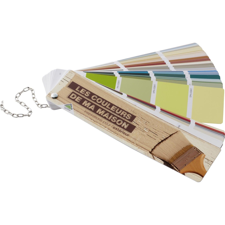 Nuancier les couleurs de ma maison ext rieur leroy merlin leroy - Palette bois leroy merlin ...