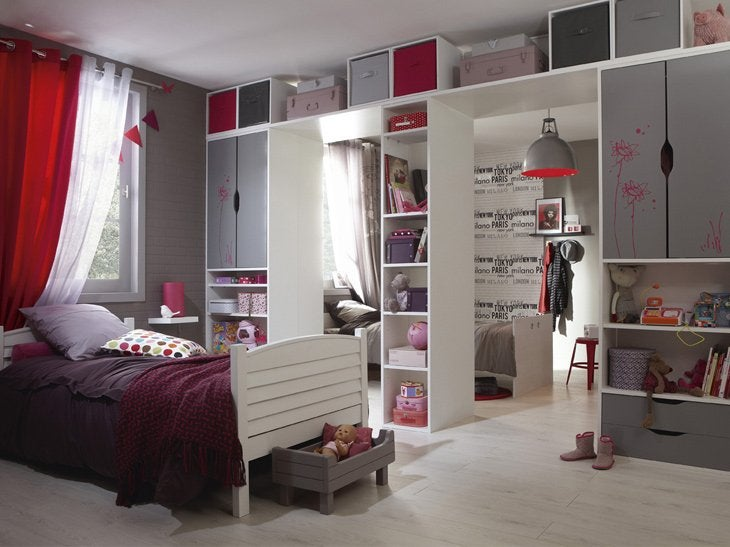 meubles chambre fille meubles rangement pour chambre. Black Bedroom Furniture Sets. Home Design Ideas