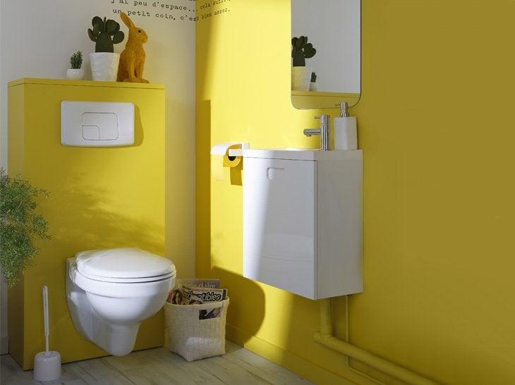 Remplacer mes wc pos s par des wc suspendus leroy merlin - Meuble pour wc suspendu leroy merlin ...