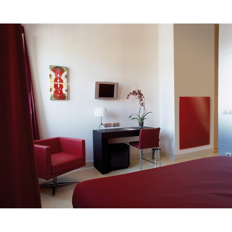 radiateur lectrique rayonnement ecosun glass 700 w leroy merlin. Black Bedroom Furniture Sets. Home Design Ideas