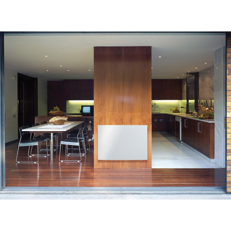 radiateur lectrique rayonnement glass 900 w leroy merlin. Black Bedroom Furniture Sets. Home Design Ideas