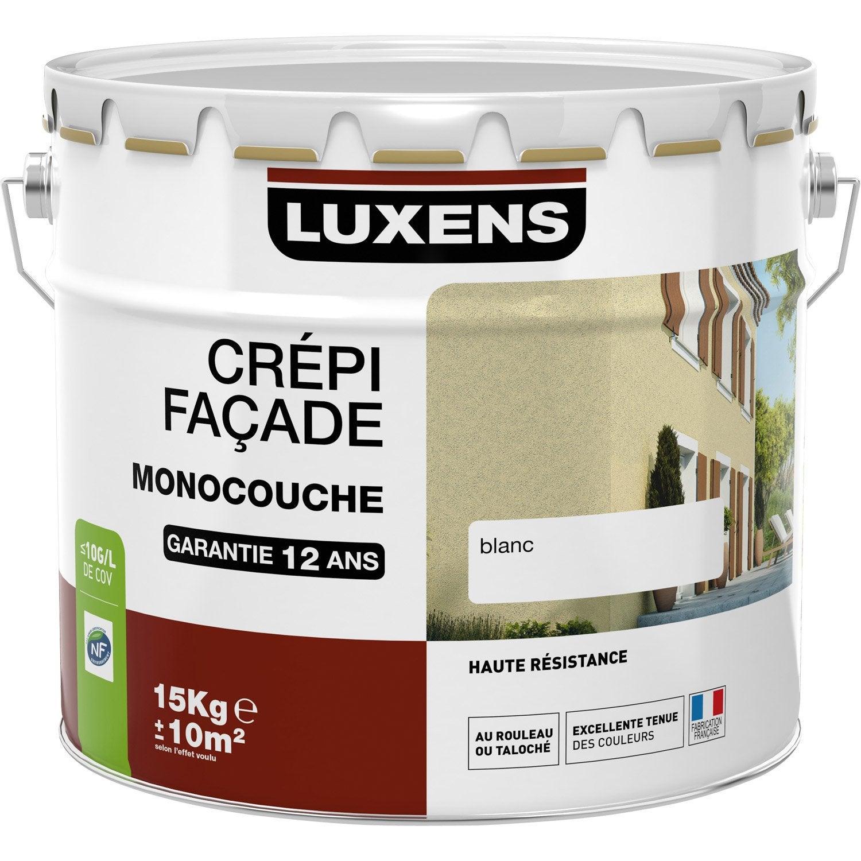 Cr pis fa ade luxens ton pierre 15 kg leroy merlin - Couleur crepis exterieur ...