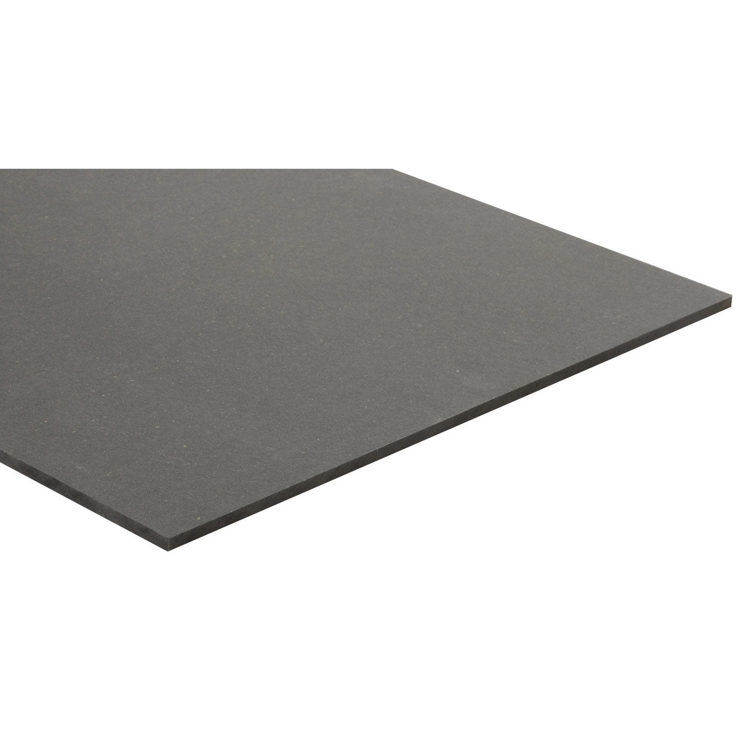 Panneau mdf m dium teint e masse gris anthracite for Portillon pvc gris anthracite