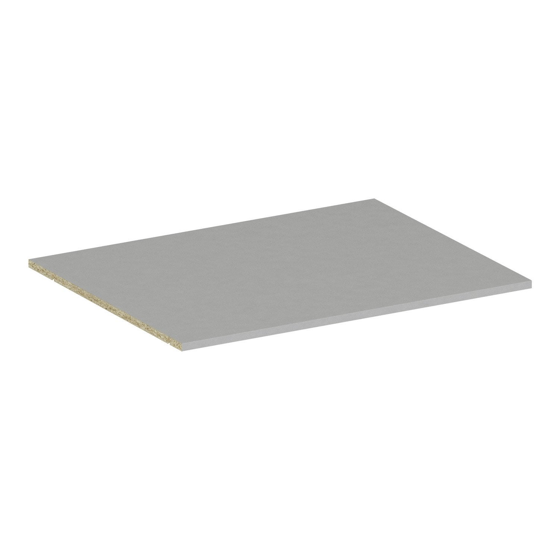 Tablette spaceo home 1 6 x 80 x 60 cm anthracite leroy merlin - Bassins om leroy merlin te zetten ...