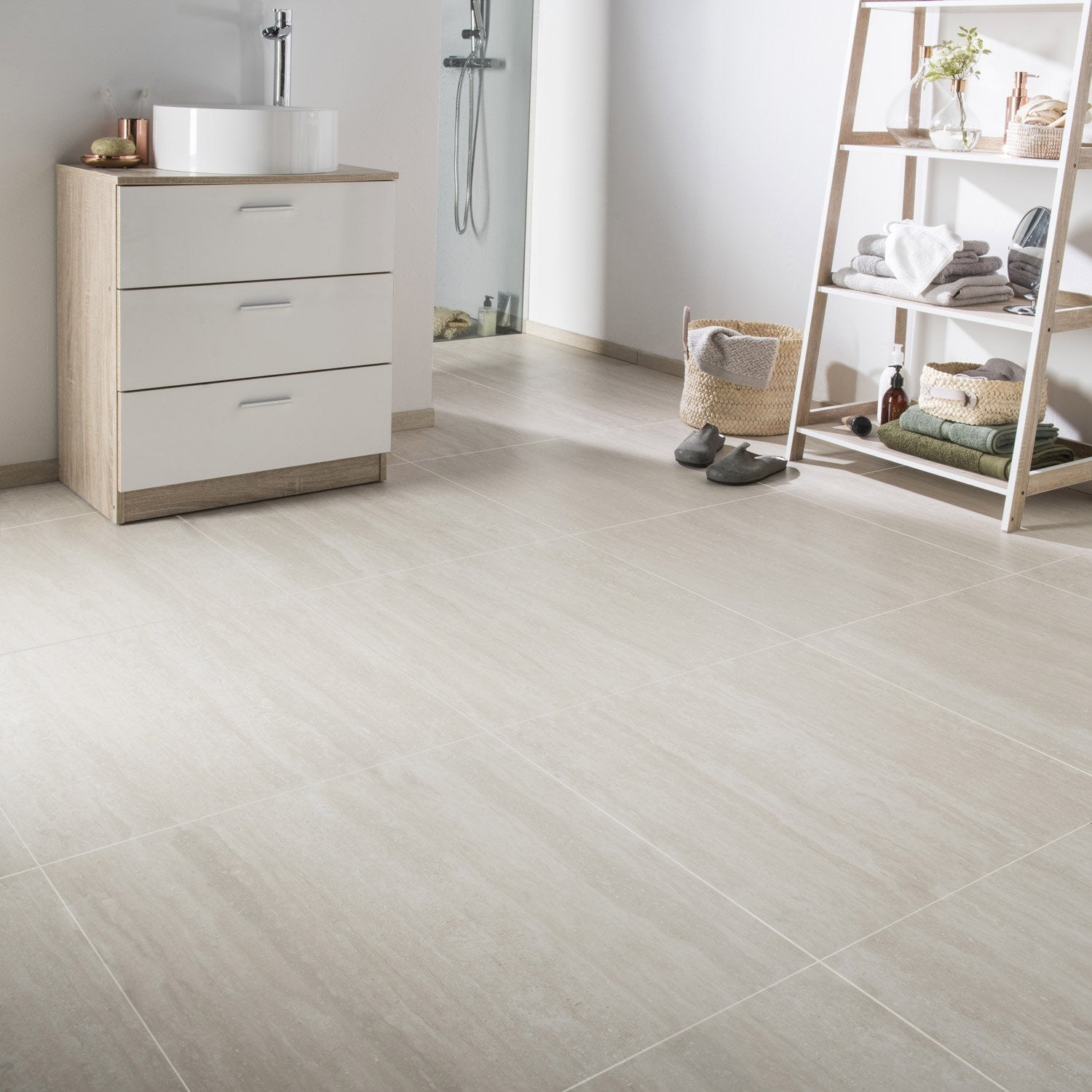 carrelage travertin leroy merlin