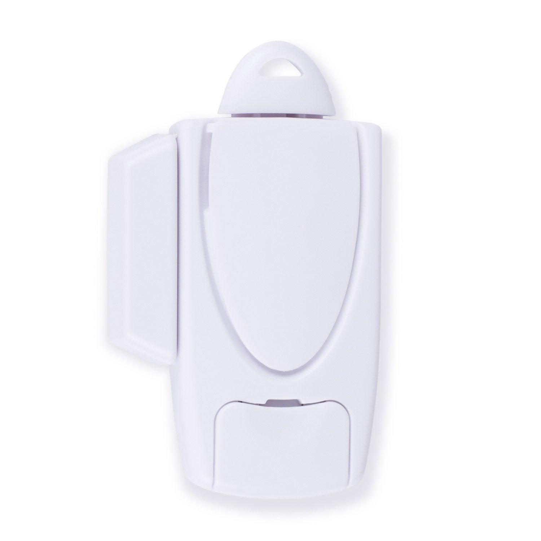 mini alarme pour porte et fen tre avec cl goupille smartwares sc30fr leroy merlin. Black Bedroom Furniture Sets. Home Design Ideas