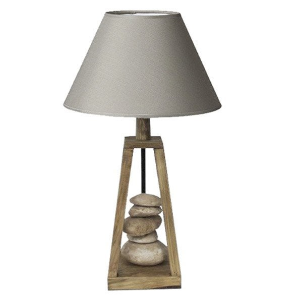 lampe e27 georgia seynave coton chanvre 60 w leroy merlin. Black Bedroom Furniture Sets. Home Design Ideas