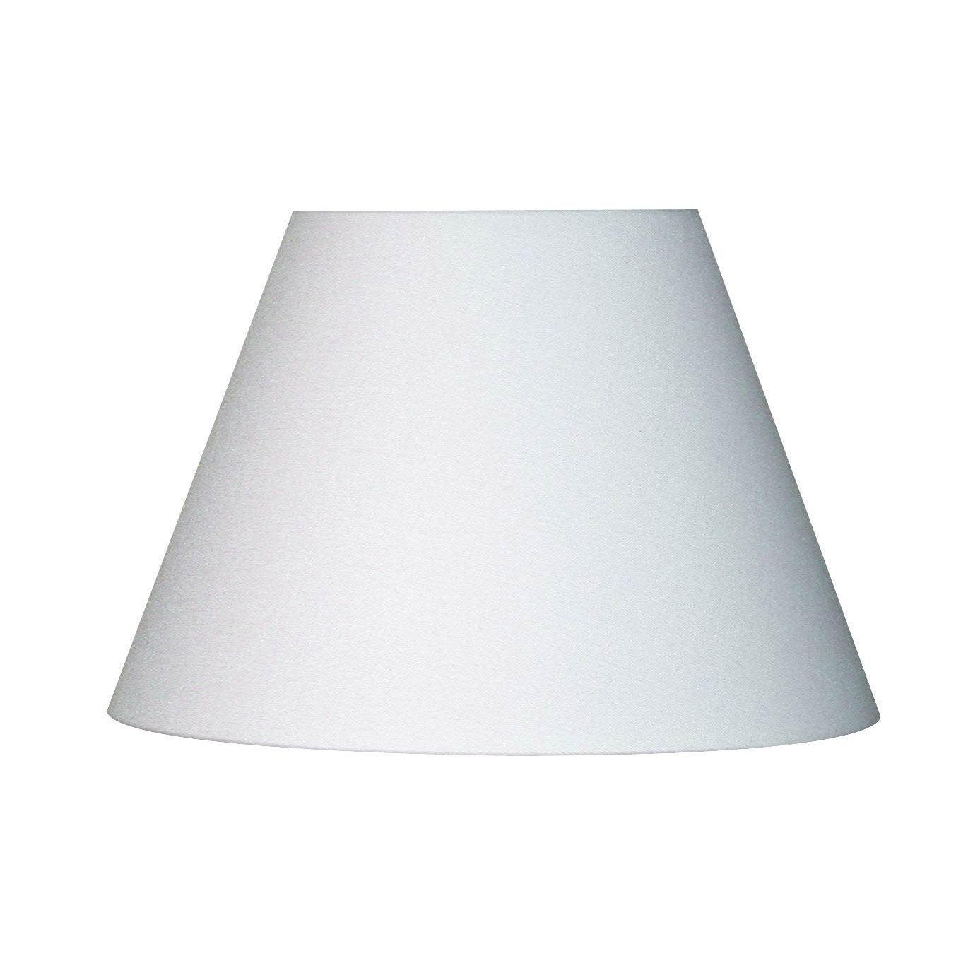abat jour sweet 25 cm toiline blanc blanc n 0 inspire. Black Bedroom Furniture Sets. Home Design Ideas