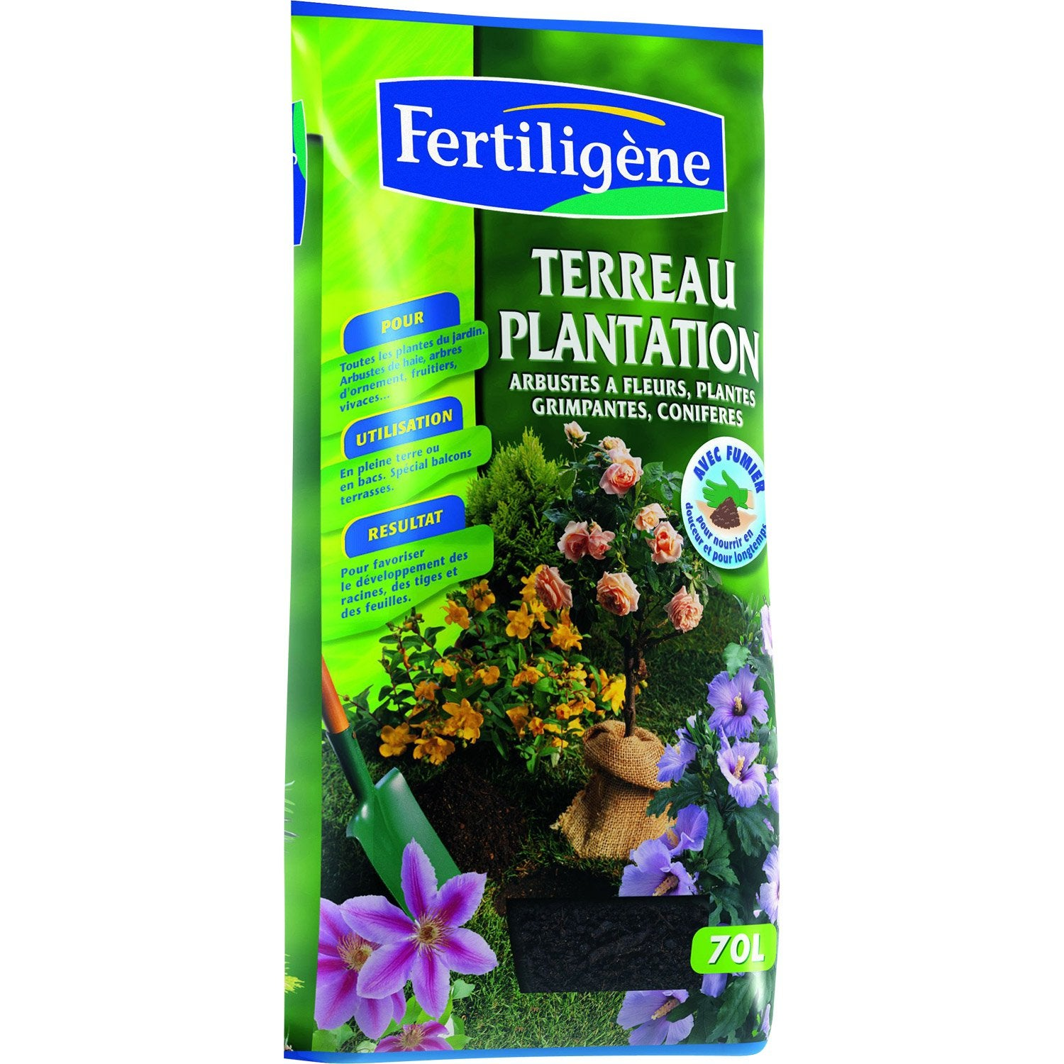 terreau plantation fertiligene 70 l leroy merlin. Black Bedroom Furniture Sets. Home Design Ideas