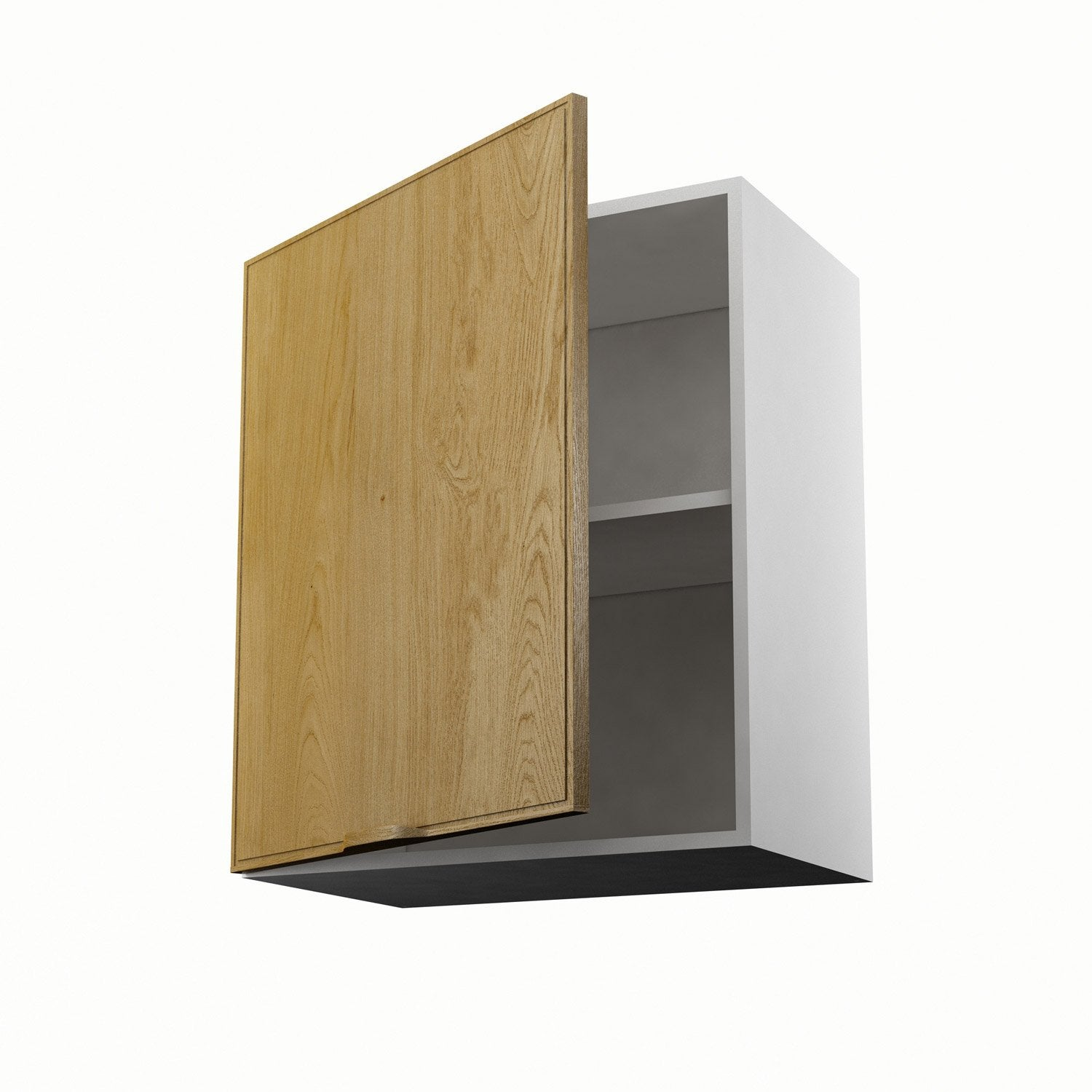 Meuble de cuisine haut ch ne 1 porte origine x x for Portes elements cuisine leroy merlin