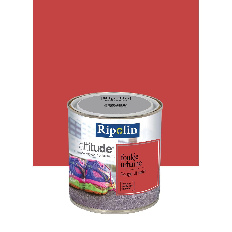 Cuisine Moderne Bois Rouge : Peinture Cuisine Rouge Vif Pour Relooker Une Cuisine Ancienne Ref