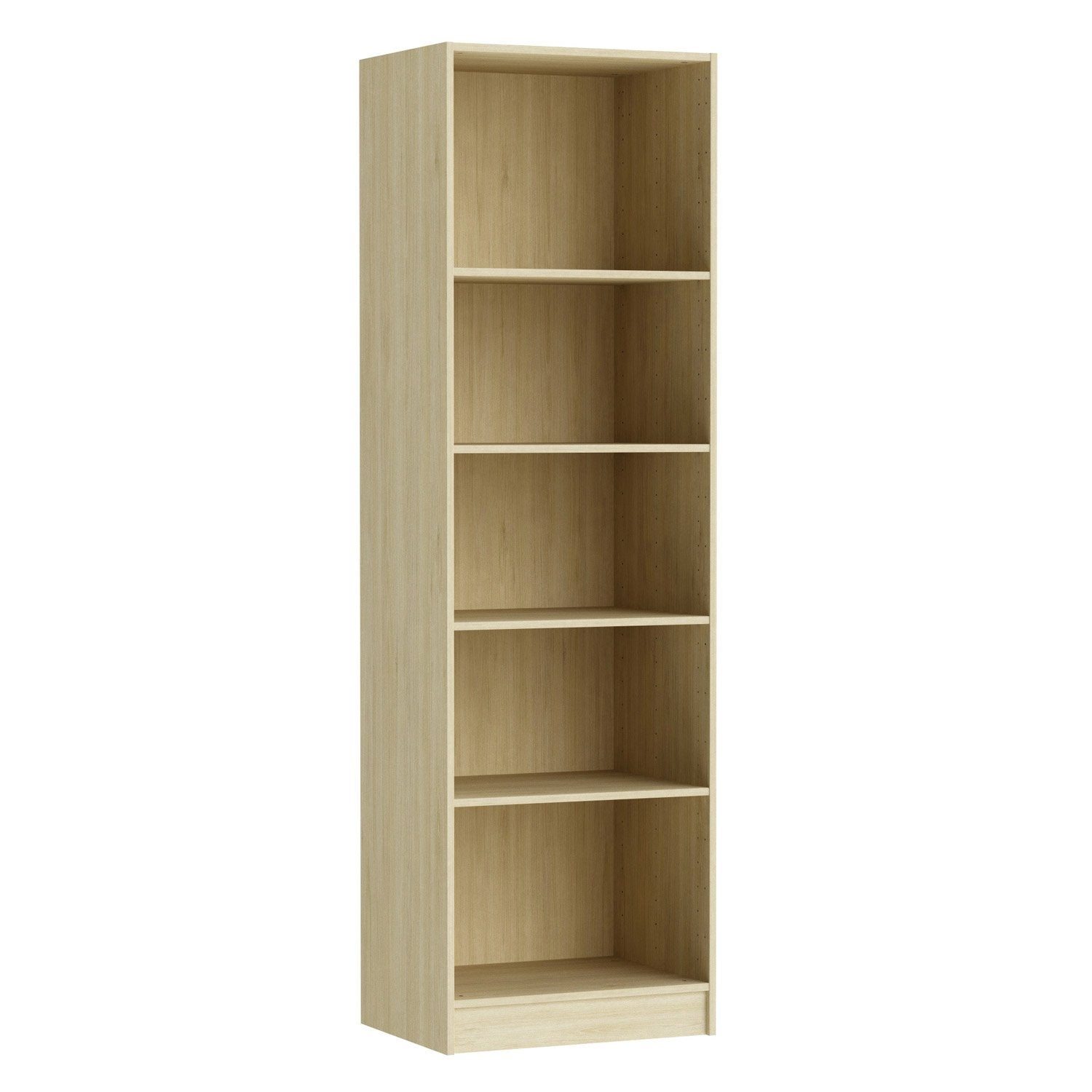 Caisson spaceo home 200 x 60 x 45 cm effet ch ne naturel leroy merlin - Penderie leroy merlin ...
