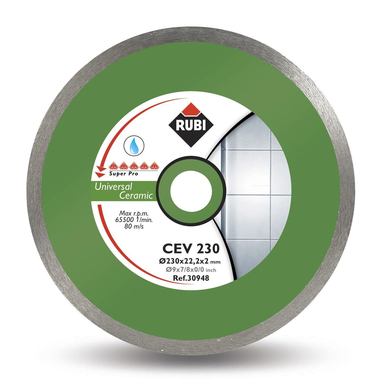 Disque coupe c ramique rubi cev 125 superpro 125 mm - Carrelage ceramique leroy merlin ...